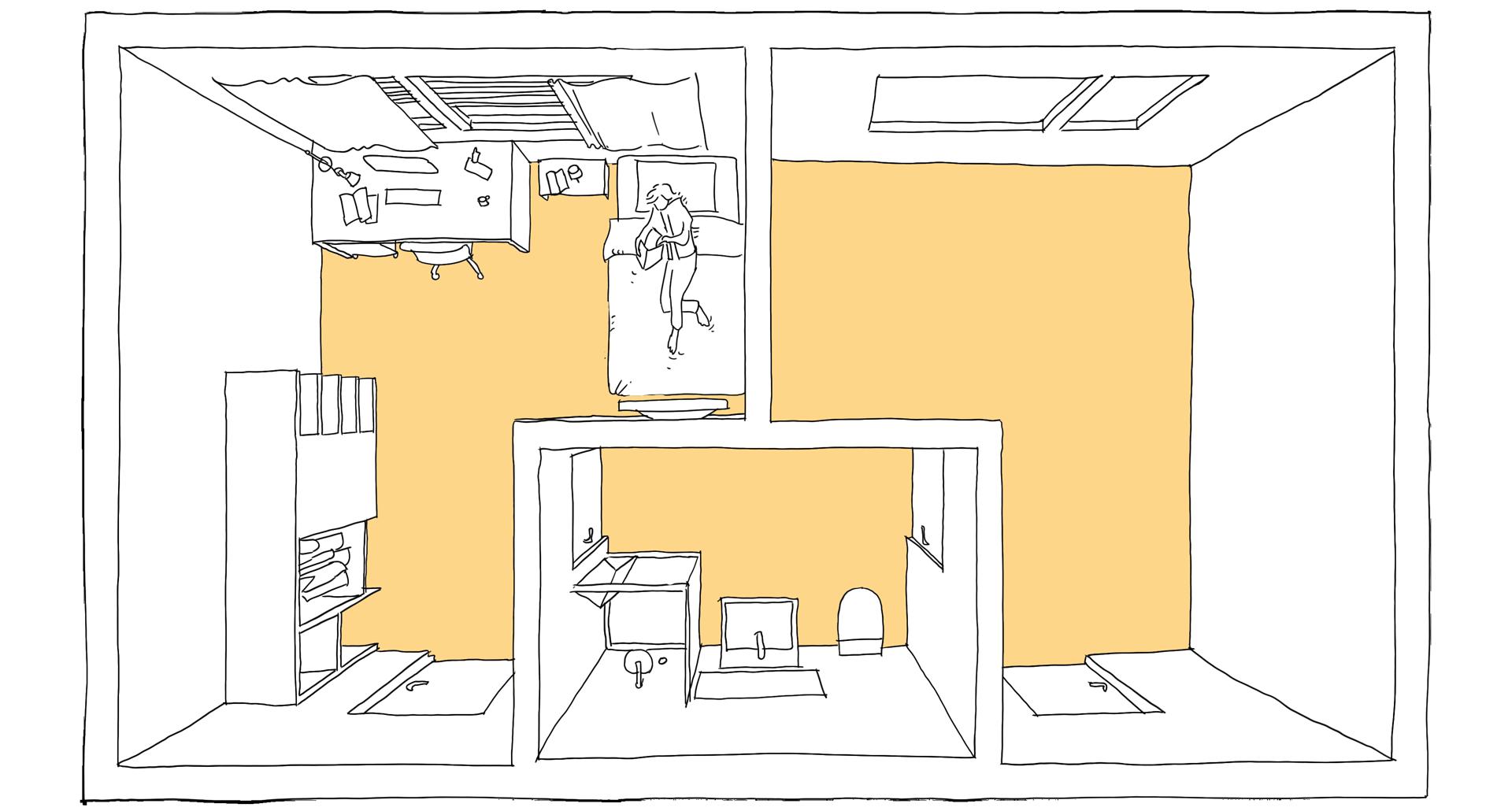 dienstzimmer neo t r ume. Black Bedroom Furniture Sets. Home Design Ideas